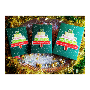Merry Christmas Gift Boxes (Set of 3)