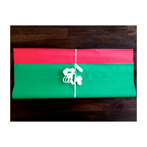 Classic Green & Red Tissue Paper