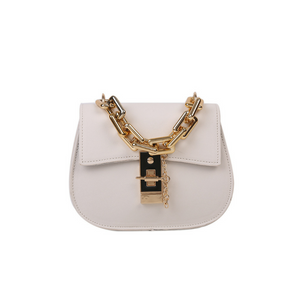 Chloe Inspired Handbag - White