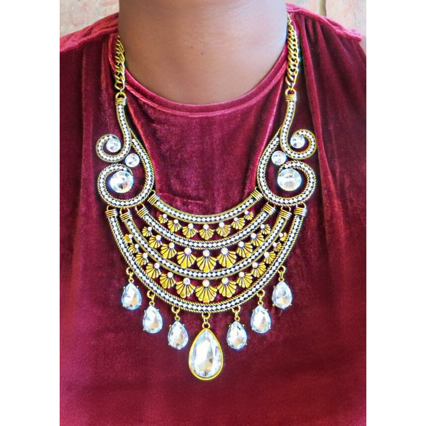 Iconic Crystal Statement Necklace