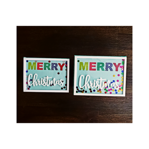 Festive Gift Boxes - Merry Christmas (Set of 2)