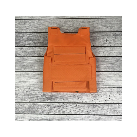 *PREORDER* Men's Cargo Vest - Orange (Ships by 12/28)