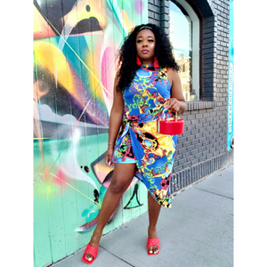 *Curvy* NOLA Getaway Dress