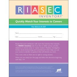RIASEC Inventory - Online Version