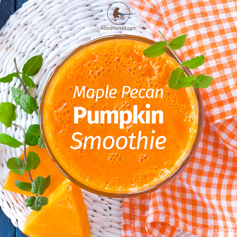 maple pecan pumpkin smoothie recipe