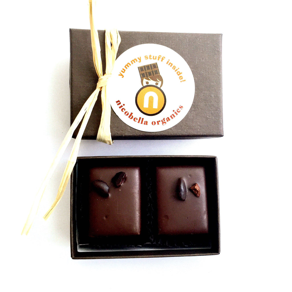 Customize Your Vegan Organic Dark Chocolate Event Favors!