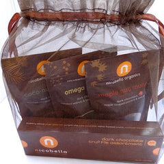 Nicobella Vegan Organic Dark Chocolate Sampler