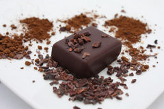 nicobella organics dark chocolate fair trade pure cocoa bliss truffles
