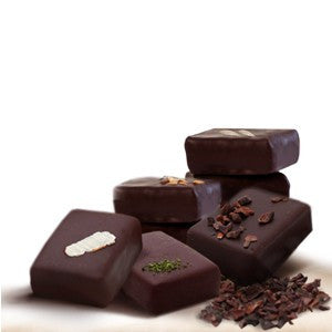 nicobella organic fair trade dark chocolate assortment truffles