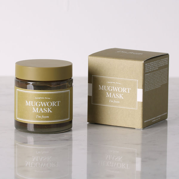 Mugwort Mask - Discover more Korean cosmetics at Cupidrop