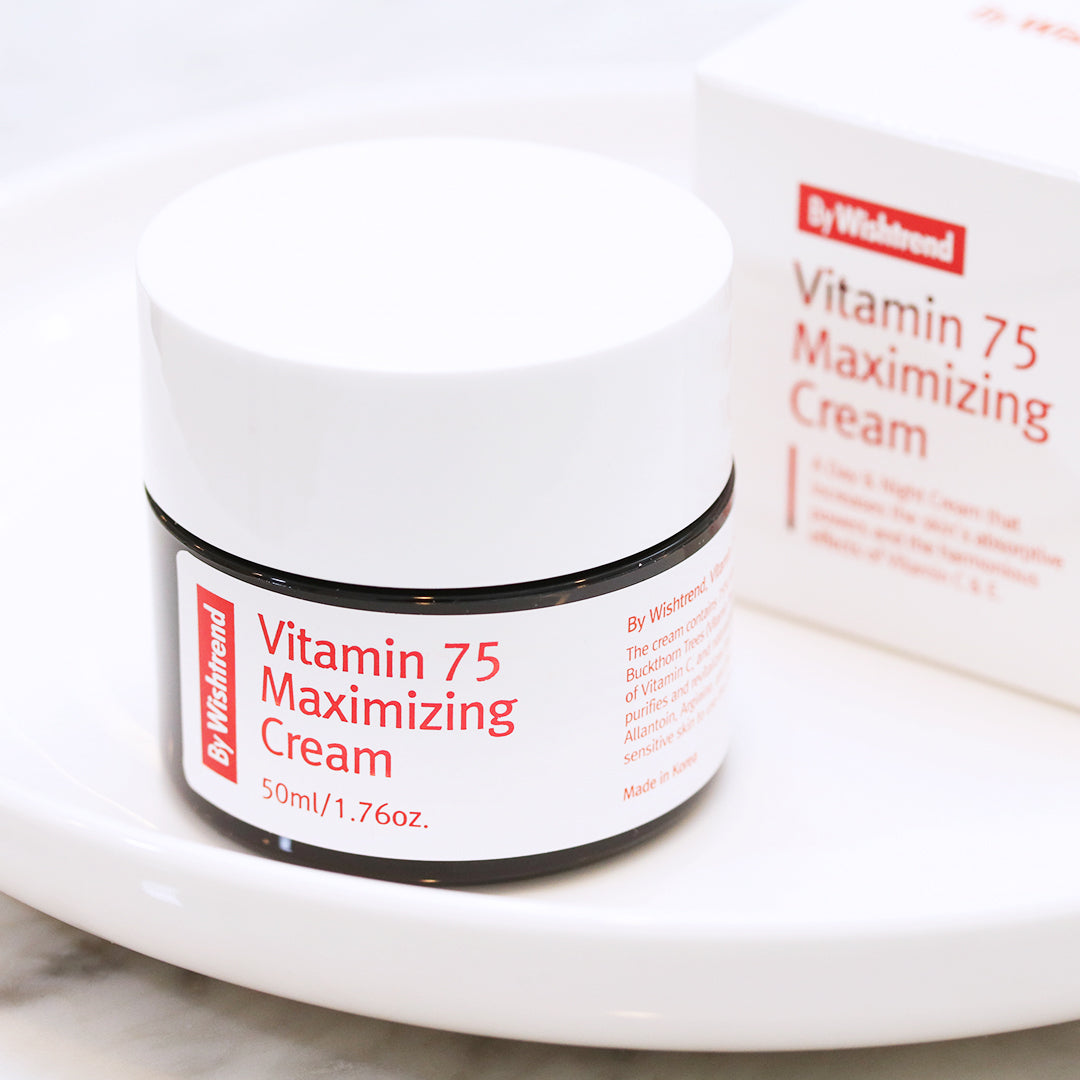 Vitamin 75 Maximizing Cream - Discover more Korean cosmetics at Cupidrop