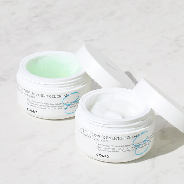 Hydrium Green Tea Aqua Soothing Gel Cream - Discover more Korean cosmetics at Cupidrop