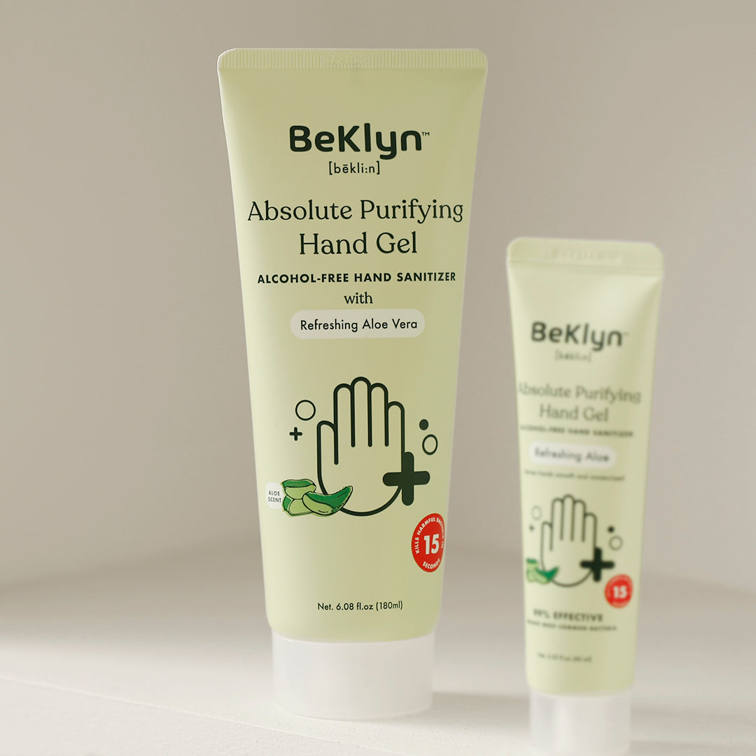Absolute Purifying Hand Gel with Refreshing Aloe Vera - Full-Sized, Alcohol-Free Sanitizer Gel
