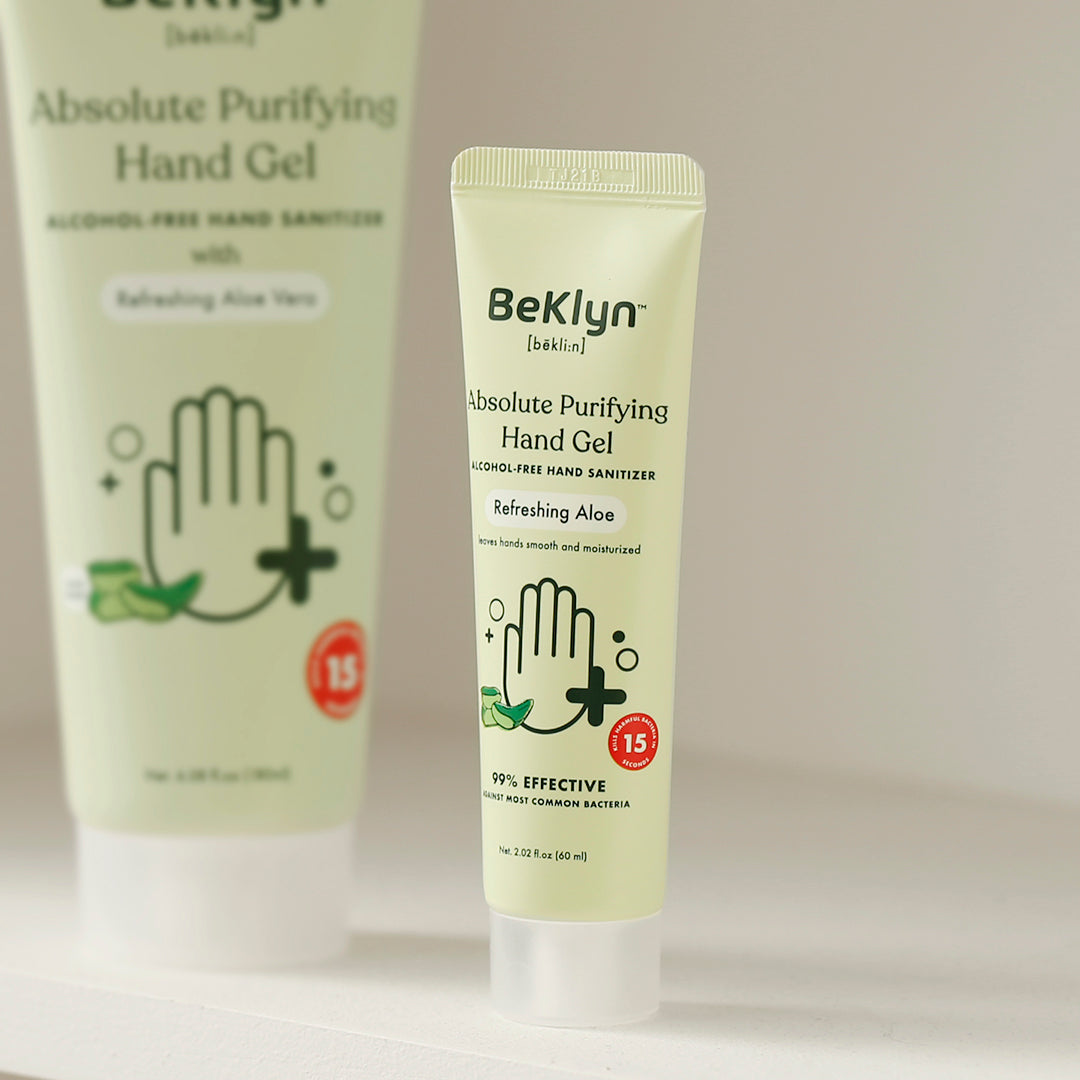 Absolute Purifying Hand Gel with Refreshing Aloe Vera - Travel-Sized, Personal Sanitizer