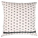 Texas Print Square Pillow