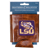 Smathers & Branson LSU Needlepoint Can Cooler