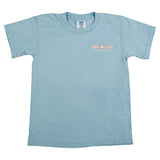 Boys Come & Take It Pocket T-Shirt - Ice Blue