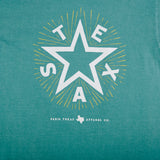 Boys Texas Star Pocket T-Shirt - Seafoam