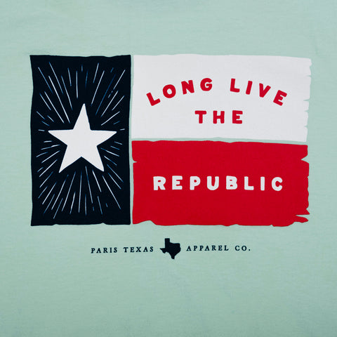 Boys Lone Star Flag Pocket T-Shirt - Island Reef