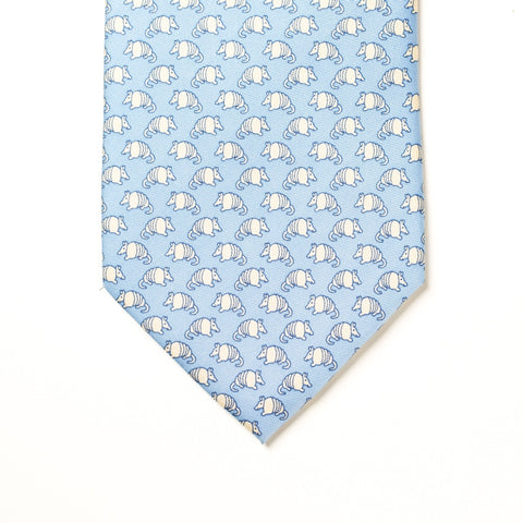 Armadillo Tie - Light Blue - Extra Long