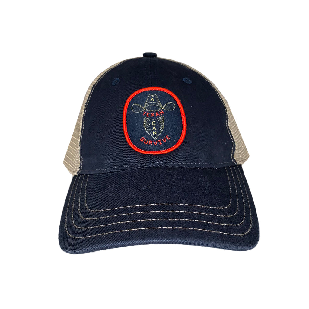 A Texan Can Survive Trucker Hat