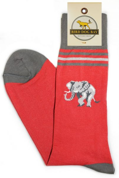 Bird Dog Bay Lucky Trunks Socks - Red