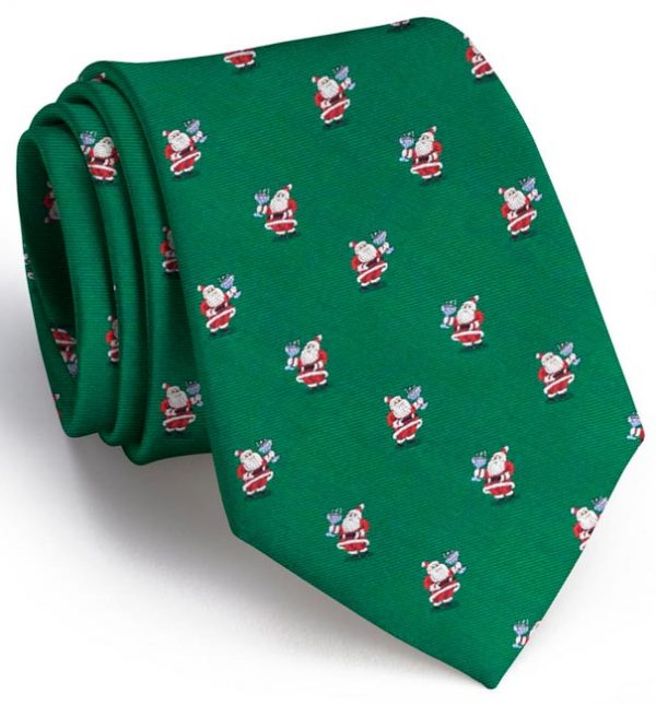 Cocktail Kringle Tie - Green