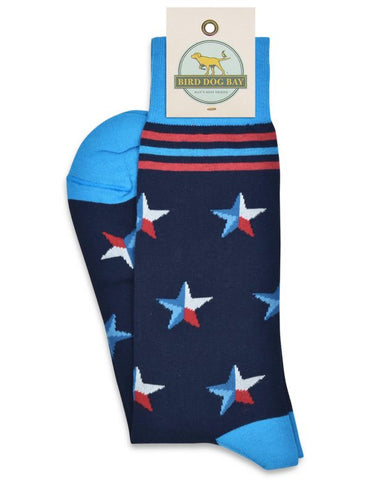 Stars Over Texas Socks - Navy