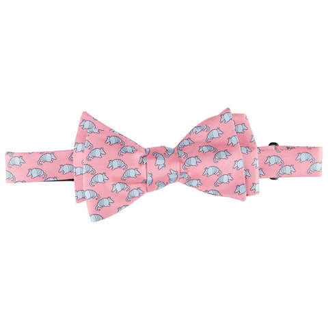 Lone Star Flag Bow Tie - Red