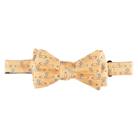 Come and Take It Bow Tie - Yellow
