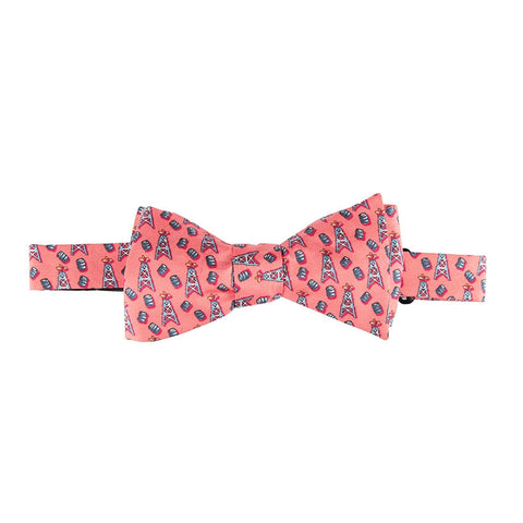 Spindletop Bow Tie - Coral