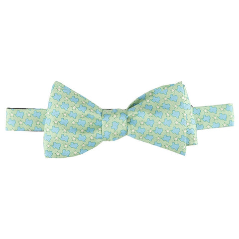 States & Stars Bow Tie - Green