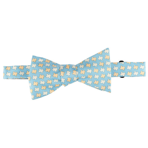 Texas States Bow Tie - Light Blue