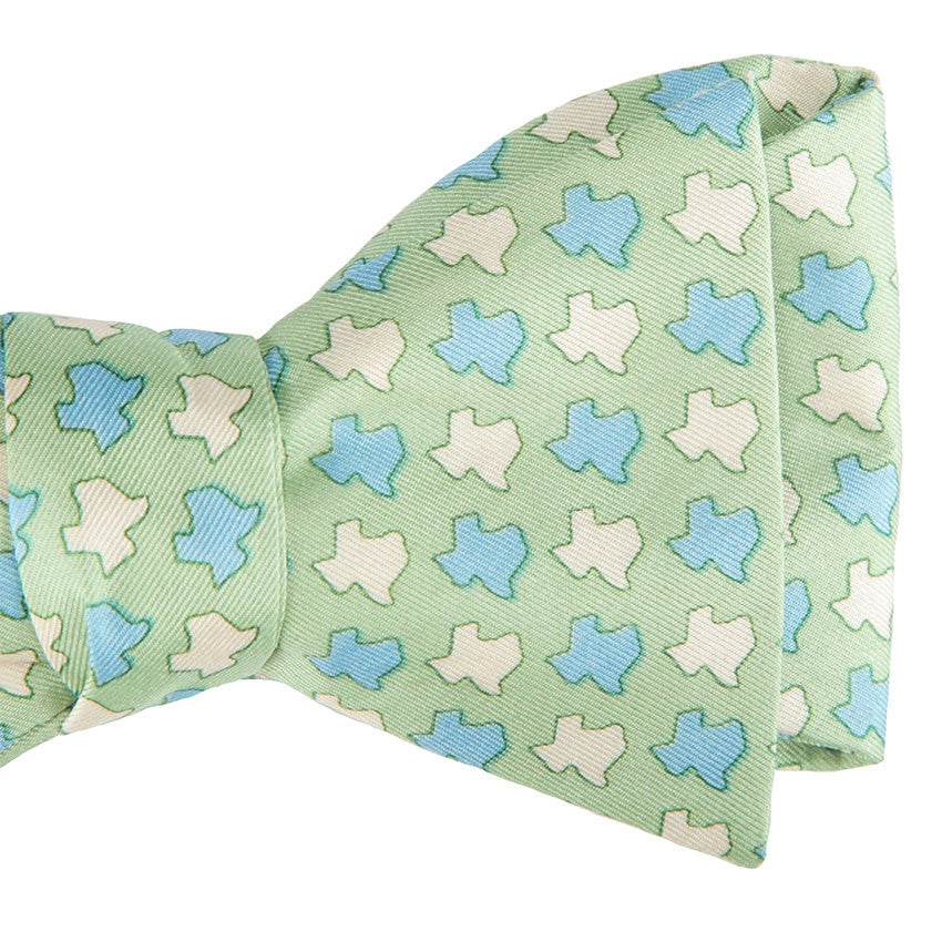 Texas States Bow Tie - Green