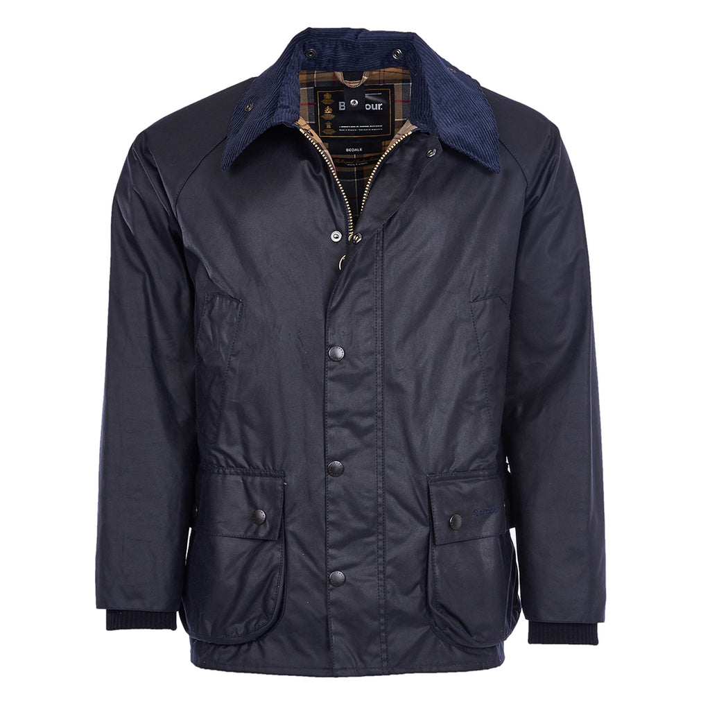 Barbour_Bedale_Wax_Jacket_Navy
