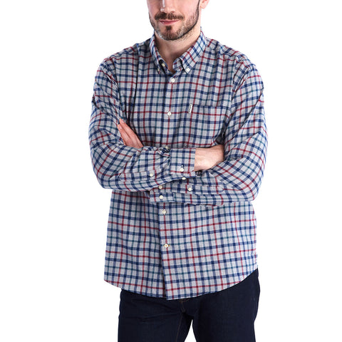 Barbour Coll Thermo Weave Shirt