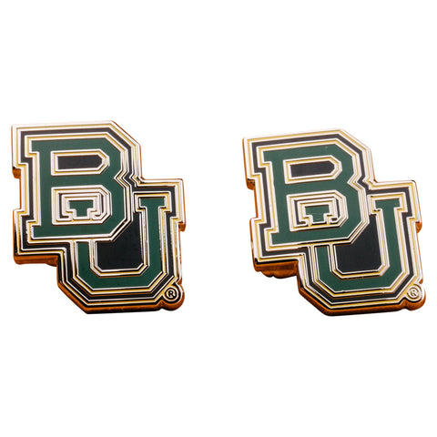 Baylor University Bears Cufflinks