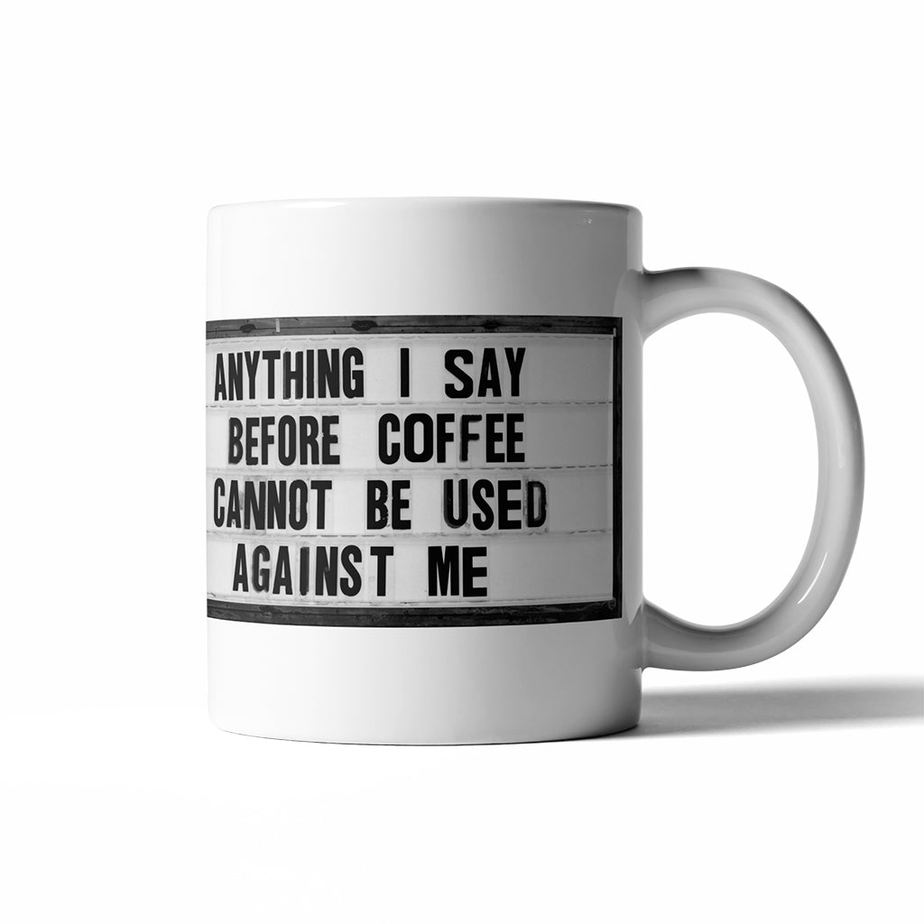 Before Coffee - Coffee Mug