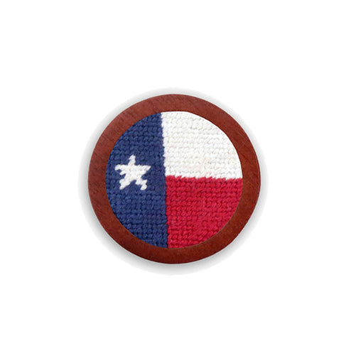 Big Texas Flag Needlepoint Golf Ball Marker