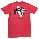 Bigger & Better Pocket T-Shirt - Brick