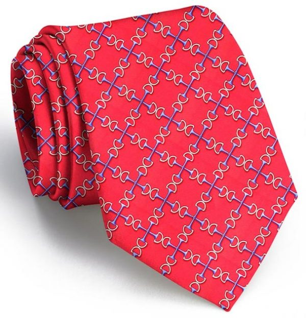Two Bits Tie - Red