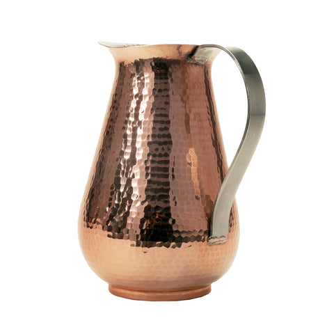 Bisotun Water Pitcher with Stainless Steel Handle