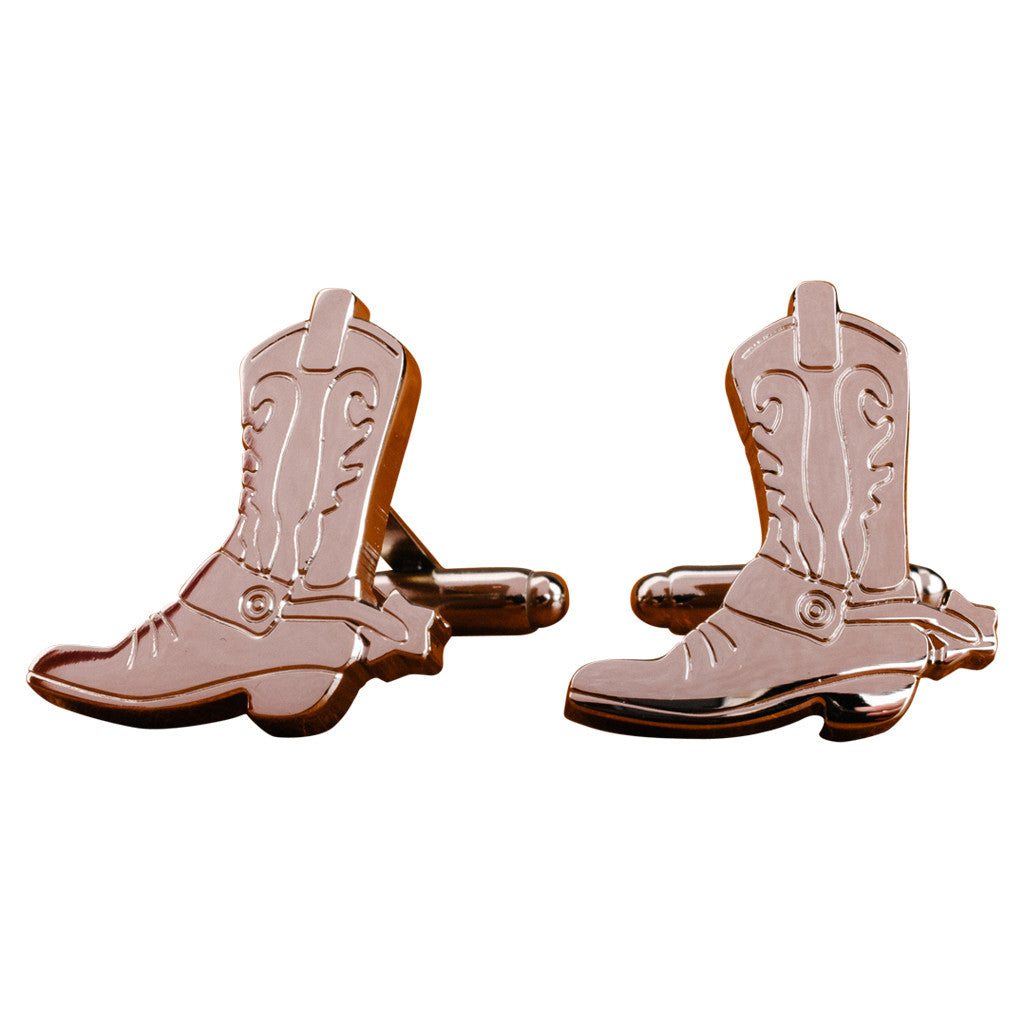 Boots and Spurs Cufflinks