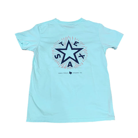 Youth Texas Star T-Shirt - Mint