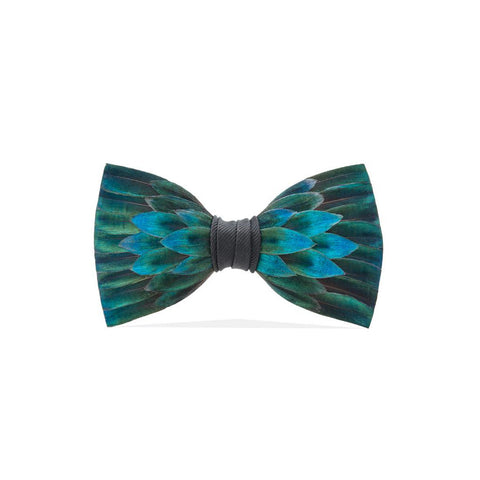 North Wind Feather Bow Tie
