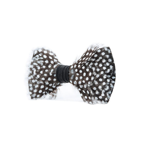 Gatsby Feather Bow Tie