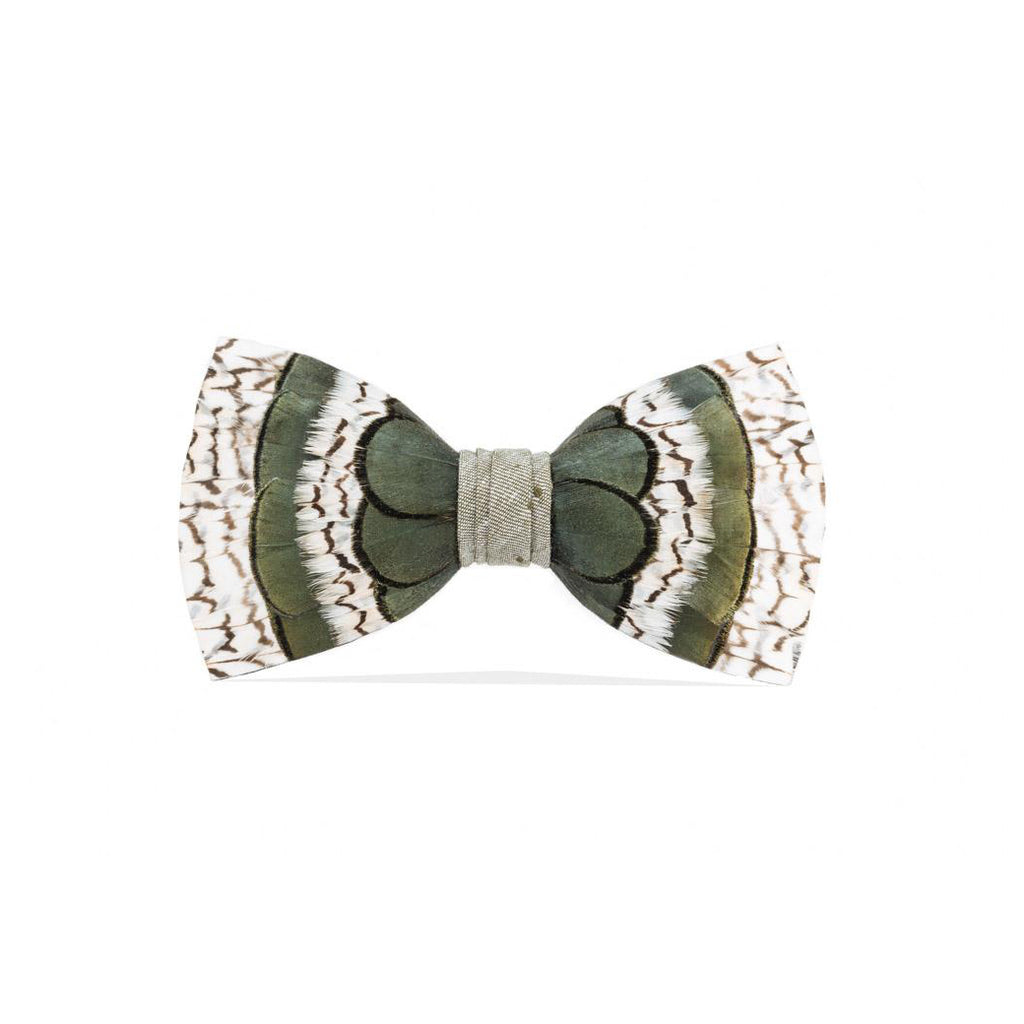 Peck Feather Bow Tie