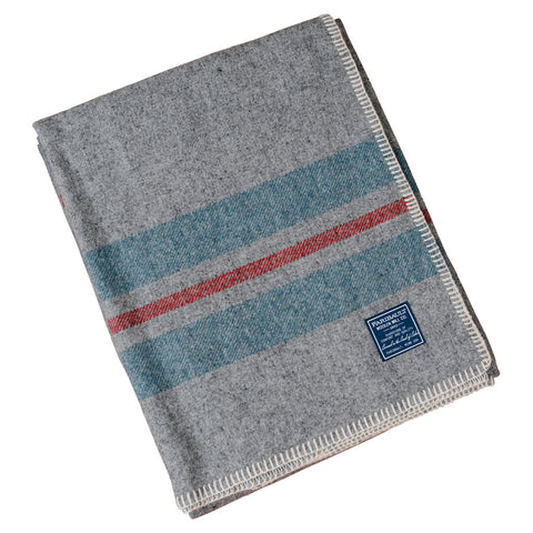 Foot Soldier Military Wool Blanket - US Navy Gray