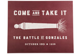 Come and Take It A&M Print
