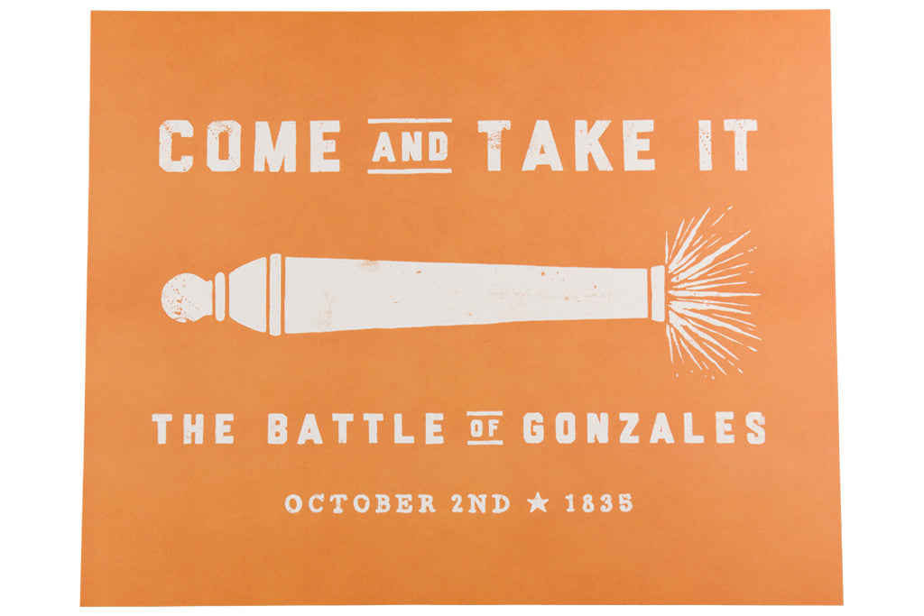 come and take it ut austin print
